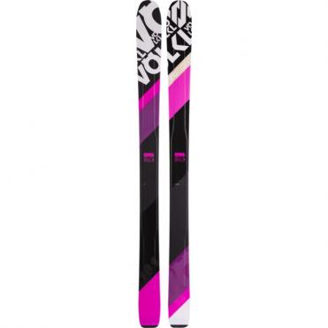 Volkl 100Eight Pink Skis 165cm Womens (2016)
