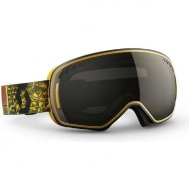 LCG Goggle Halo Green/Solar Black chrome + Illuminator Blue Chrome Bonus Lens