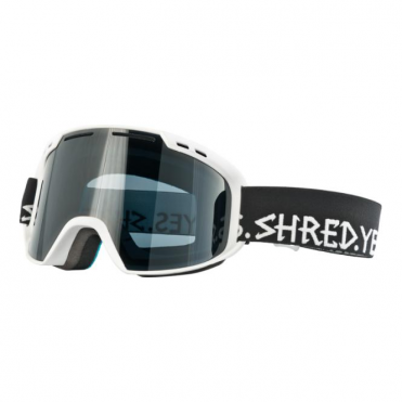 Amazify Goggles - RDM Signature White/Black with Stealth Reflect Smoke Lens