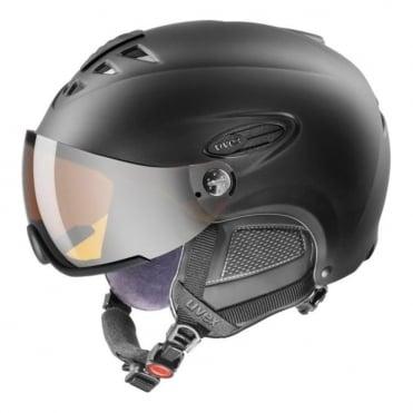 300 Visor Silver Lite Mirror S3 Helmet - Black