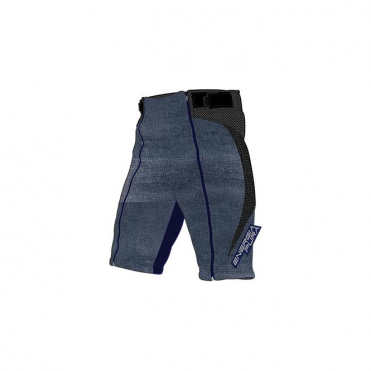Training Shorts/Overshorts - Denim Stonewashed-Look