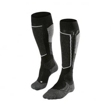 Unisex Sk2 Ski Socks - Black