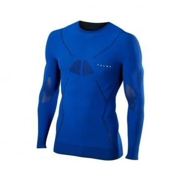 Mens Base Layer Longsleeved Shirt - Cobalt Blue