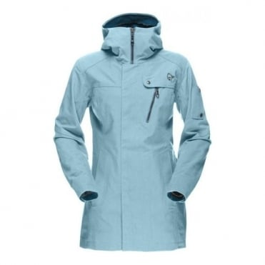 Wmns Dri2 Coat - Trick Blue