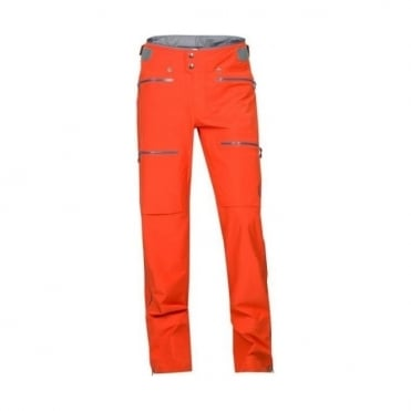 Mens Lyngen Driflex3 Pant - Hot Chilli Red