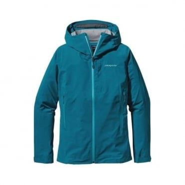 Patagonia Womens Tech Jacket Refugative Underwater Blue