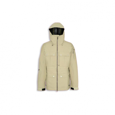 Mens Tech Jacket Corpus GTX - Beige