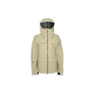 Wmns Tech Jacket Corpus Birdie GTX Jacket - Beige