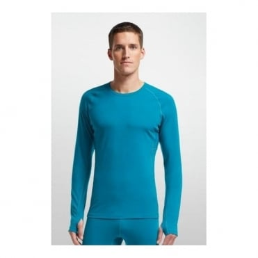 Mens Base Layer Zone Ls Crewe - Blue