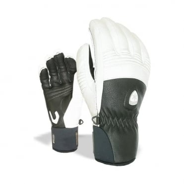 Wmns Off Piste Leather Glove - Black/White
