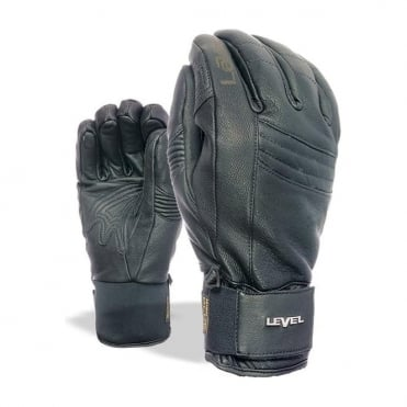 Mens Rexford Leather Glove - Black