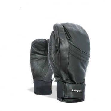 Rexford 3 Finger Trigger Mitten - Black