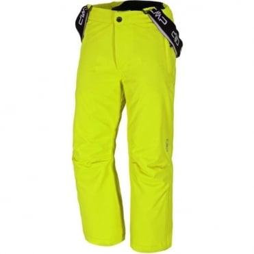 Junior Unisex Tech Salopette - Neon Yellow