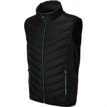 Mens Mid Layer Primaloft Liner Vest - Nero Black