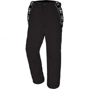Mens Ski Stretch Pant - Black
