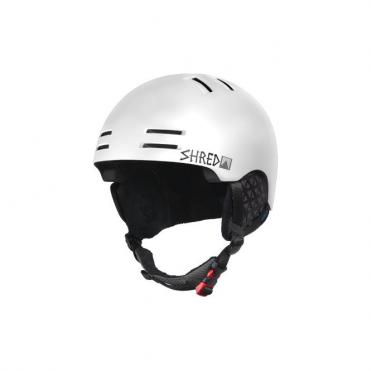 Slam-cap Snowplough Helmet - White