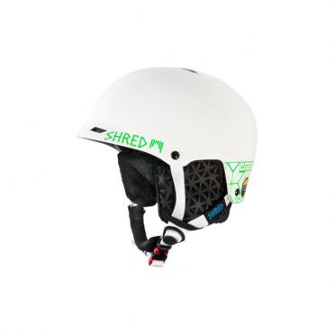 Half Brain D-lux Norfolk Helmet - Green White