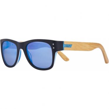 Belushki Rollerwood Sunglasses - Black/Wood