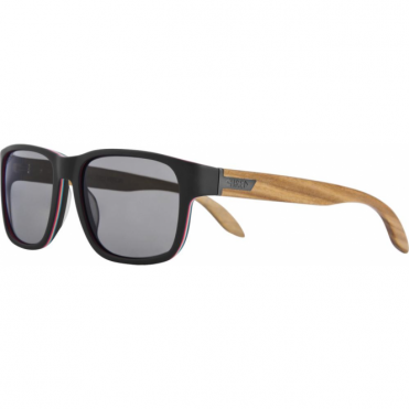 Sharstawood Polar + Hydrophobic Sunglasses - Black/Wood
