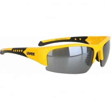 Sportstyle 217 Sunglasses - Yellow + Black Mirror Lens