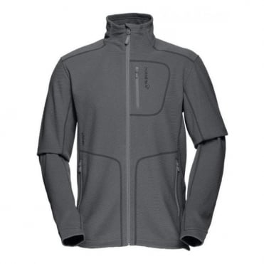 Mens Mid Layer Lofoten Warm1 Jacket - Cool Black