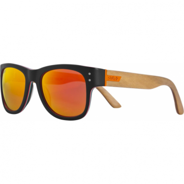Belushki Shrastawood Sunglasses - Black/Wood