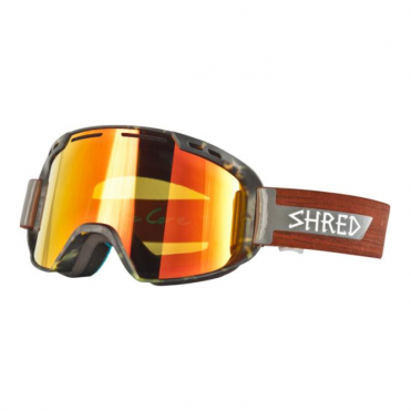 Amazify Goggles - Schnerdwood Tortoise/Burn Reflect Caramel Lens