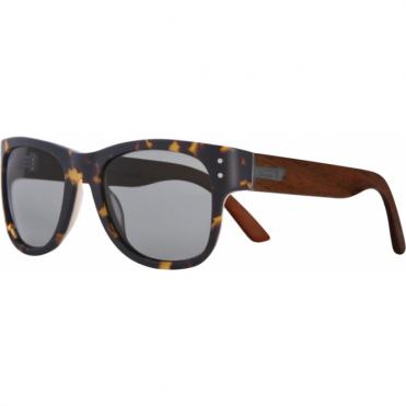 Belushki Shnerdwood Sunglasses - Tortoise/Wood