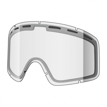Monocle Double Goggle Lens - Clear