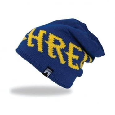 Empire Beanie - Navy Blue/Yellow