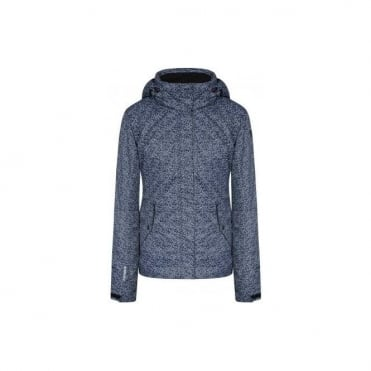 Wmns Tessy Jacket - Pattern Dark Blue