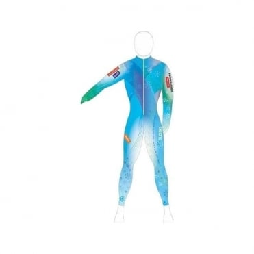 Unpadded Race Catsuit Maze WC Fabric
