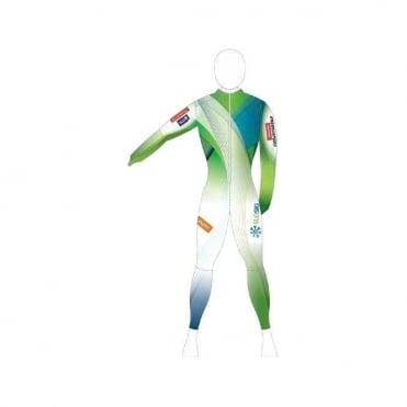 Unpadded Race Catsuit Slovenia WC Fabric