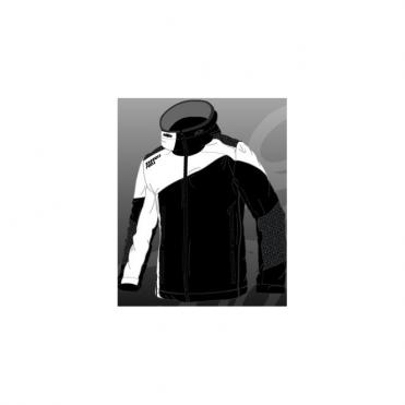 Energiapura Mens Tech Jacket Verbier Black/White