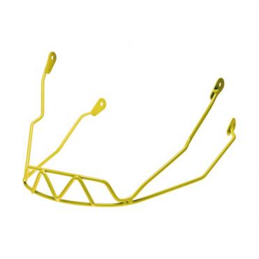 Race Chinguard Half Brain - Yellow