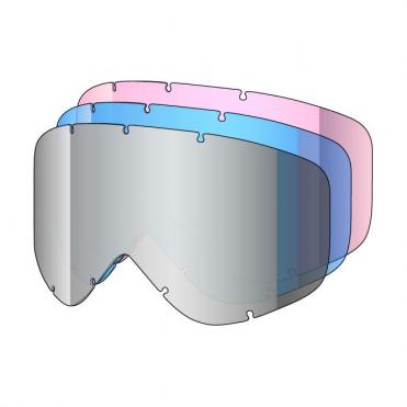 Tastic Goggle Lens 3 Kit - Plat, Blue, Rose