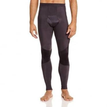 Mens RY400 Recovery Long Tights - Graphite Black