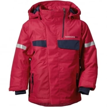 Junior Tech Jacket Izusa - Red