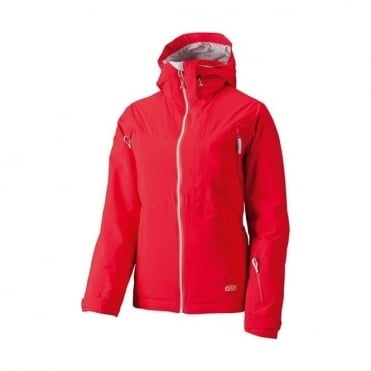 Wmns Treeline 2L Flex Jacket - Red