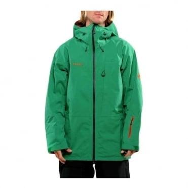 Mens Trift 3L Parka Jacket - Amazon Green