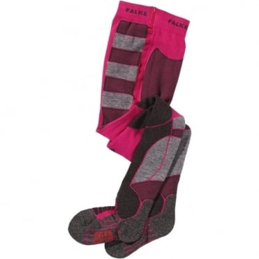 Sk Kids Skiing Tights - Pink