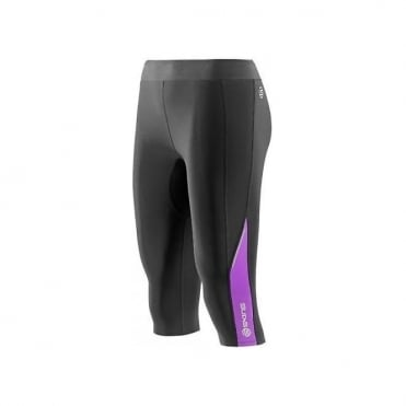 Wmns A200 Thermal 3/4 Tight - Black/Violet