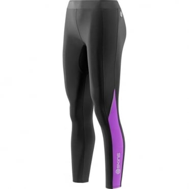Wmns A200 Thermal Long Tight - Black/Violet