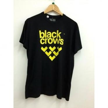 Mens Logo T-Shirt - Black/Yellow