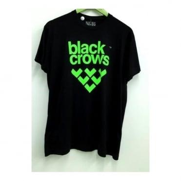Mens Logo T-Shirt - Black/Green