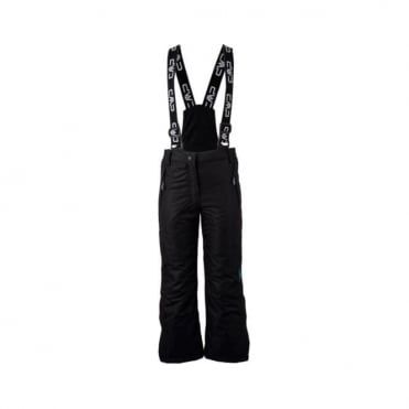 Junior Full-Zip Ski Race Pants - Black