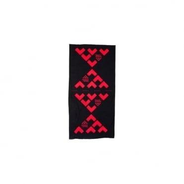 Maska Neck Tube Warmer - Red/Black
