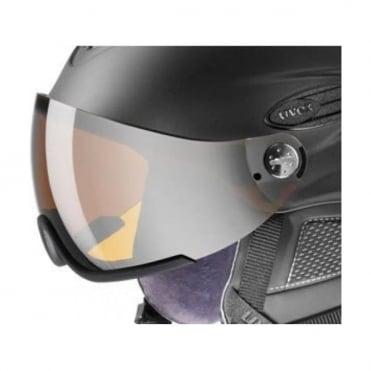 300 Visor Helmet Spare/Replacement  Lens - Visor SilverLite Mirror S3