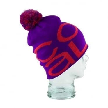 Beanie The Logo - Purple/Red