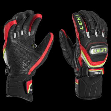 Worldcup Race Glove Titanium Trigger S Speed System - Black/Red